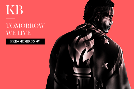 Pre-order KB's Tomorrow We Live Today!