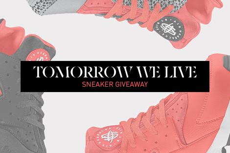 KB Tomorrow We Live Sneaker Giveaway