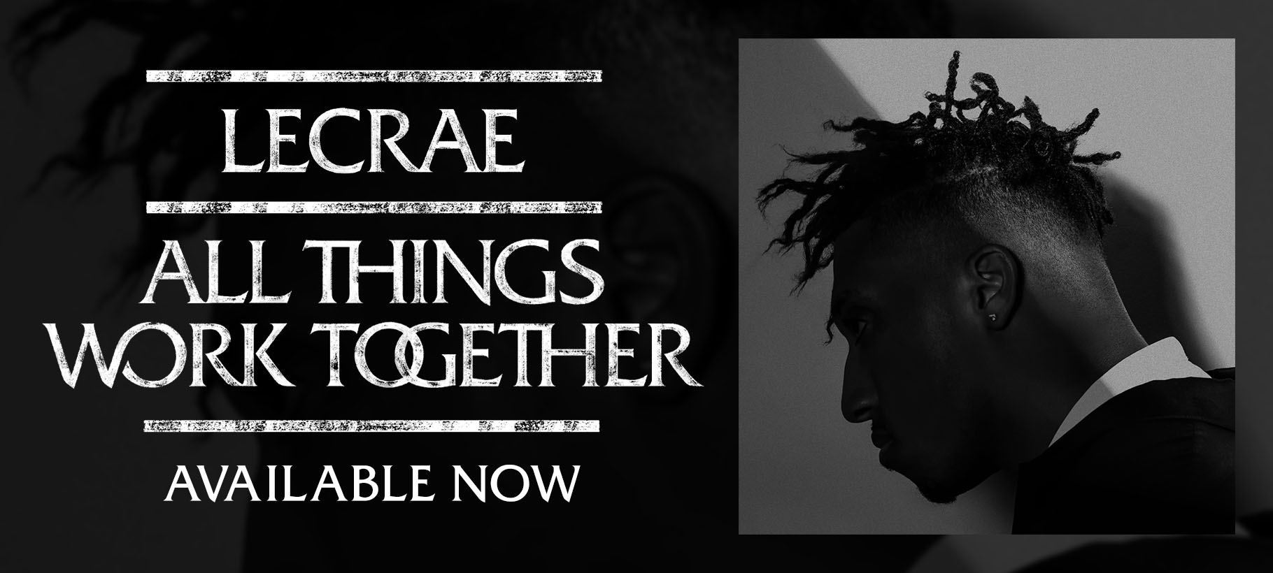 Find Lecrae's All Things Work Together in Stores!