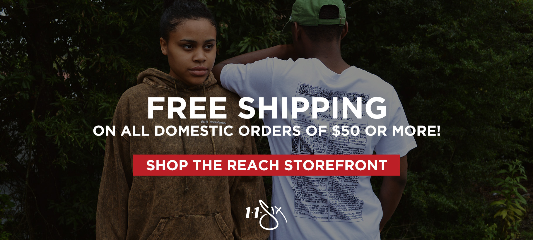Free Shipping x Shop Reach Records Storefront
